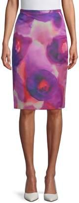 Burberry Printed Knee-Length Skirt