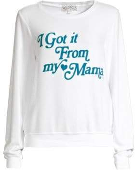 Wildfox Couture Women's Mama Sweatshirt - Clean White - Size XS