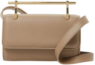 M2Malletier Fabricca Mini Leather Clutch