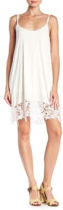 Papillon Lace Hem Slip Dress