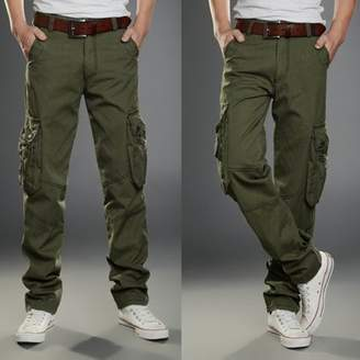 Feel Outdoor Climbing Sports Pants Multi-Pocket Design Long Overalls Casual Pants Hiking Tactical Trousers Four Seasons