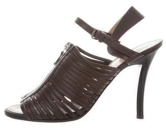 Proenza Schouler Leather Open-Toe Sandals