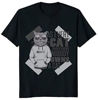 T-Shirt: As every cat owner knows