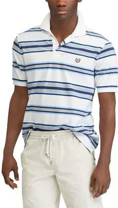 Chaps Men's Classic-Fit Striped Pique Polo