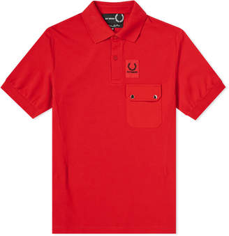 Raf Simons Fred Perry X Fred Perry x Logo Pocket Polo
