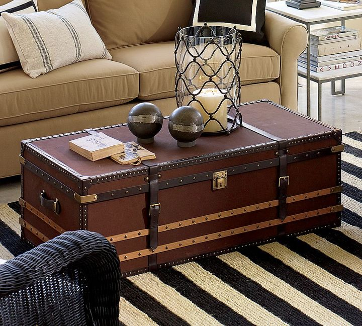 Voyager Trunk - Brown