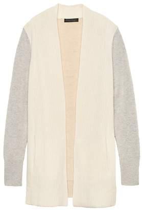 Banana Republic Cashmere Open Cardigan Sweater