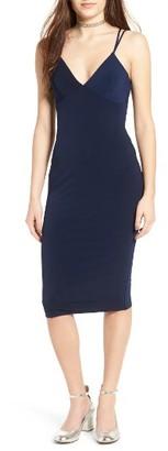 Women's Socilate Bodycon Midi Dress $49 thestylecure.com