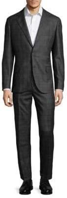 Brunello Cucinelli Checkered Wool Suit