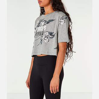 Nike Women's Sportswear Camo Force Crop T-Shirt