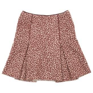 Bottega Veneta Brown Wool Skirts