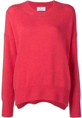 Allude relaxed fit sweater