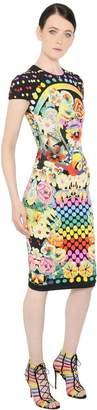 Mary Katrantzou Floral Jacquard Knit Dress