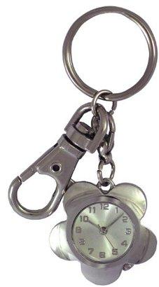 Crepha (クレファー) - [クレファー]CREPHA 懐中時計 フラワー型ポケットウォッチ アナログ表示 3気圧防水 シルバー BAS-4060-SV