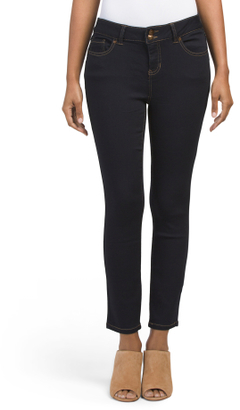 Booty Lifting Ankle Jeans $19.99 thestylecure.com