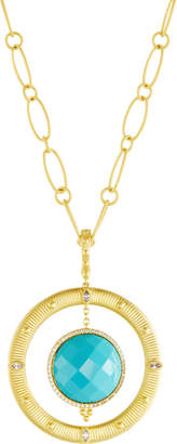 Freida Rothman Amazonian Allure Pendant Necklace