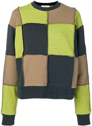 Ports 1961 square knit jumper