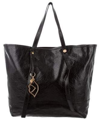 See by Chloe Black Leather Tote