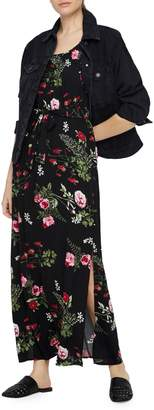 Vero Moda Simply Easy Floral Slit Maxi Dress