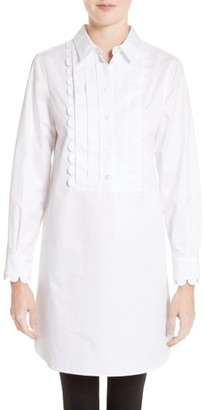 Women's Burberry Ginger Bib Tunic $795 thestylecure.com