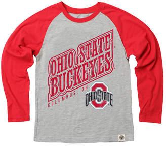 pretty nice c53ec 9e8af Wes   Willy Ohio State Buckeyes Heather Raglan T-Shirt, Toddler Boys (2T