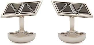 Babette Wasserman Venitian Swarovski crystal cufflinks