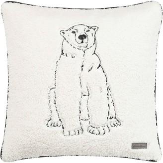 Eddie Bauer Cozy Polar Bear Throw Pillow