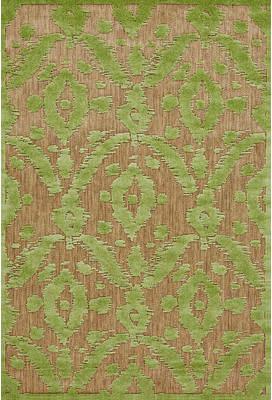 Monroe Threadbind Green Indoor/Outdoor Area Rug