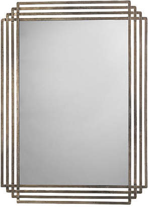 Jamie Young Serai Wall Mirror - Antiqued Silver