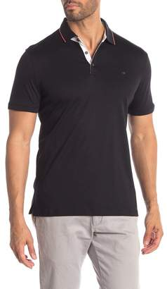 Calvin Klein Contrast Trim Slim Fit Polo