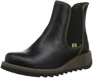 Fly London Girls' Salv K Chelsea Boots
