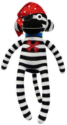 Sockie Monkey Pirate Pete Plush Toy