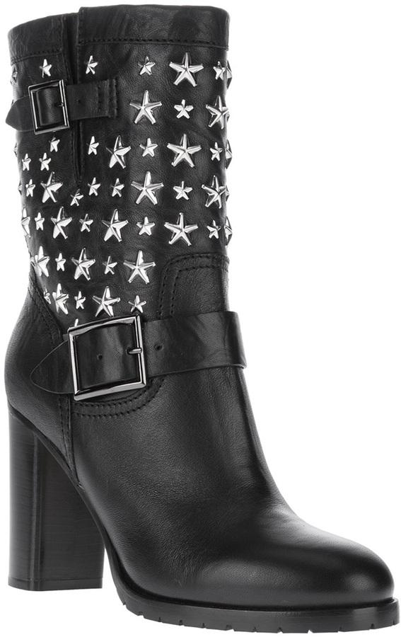 Jimmy Choo 'Dart' star studded boot