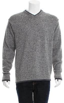 Aigle Wool V-Neck Sweater