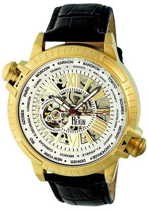 Reign Unisex Black Strap Watch-Reirn2106