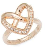 Swarovski Crystal Heart Ring