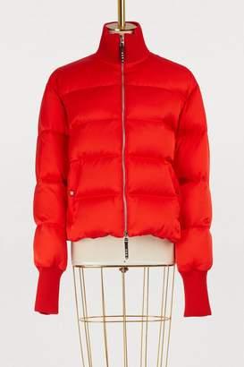 Alexander McQueen Silk down jacket