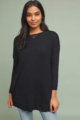 Bordeaux Claremont Ribbed Tunic