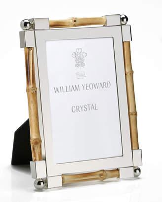 """William Yeoward Bamboo Frame, 4"""" x 6"""""""