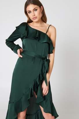 Hot & Delicious One Shoulder Maxi Dress