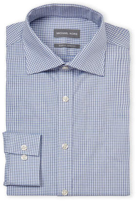 Michael Kors Slim Fit Stretch Long Sleeve Dress Shirt