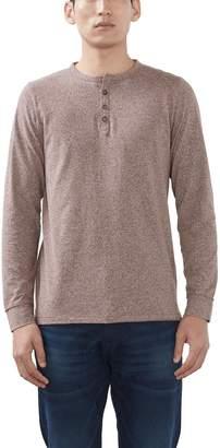 Esprit Men's 106ee2k008-Henley Long Sleeve Top