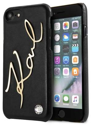 Karl Lagerfeld Signature iPhone Case