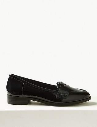 762169acb8213d Marks and Spencer Leather Saddle Loafers