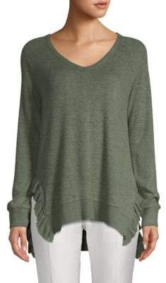 Catherine Malandrino Hacci Long-Sleeve Sweater