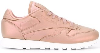 Reebok metallic lace-up sneakers $125.54 thestylecure.com