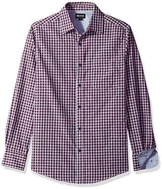 Haggar Men's Long Sleeve Tuckless Shirt