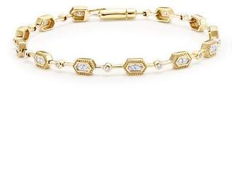 Bloomingdale's Diamond Geometric Bracelet in 14K Yellow Gold, .33 ct. t.w. - 100% Exclusive