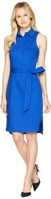 Adrianna Papell Sleeveless Sheath w/ Collar Dress Women's Dress