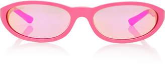 Balenciaga Sunglasses Round-Frame Acetate Sunglasses